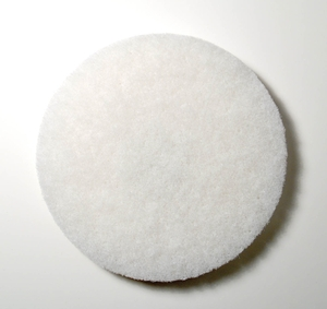 In Stock Oreck MS2448-OC Scrubber Accessory MS1066 Polishing Pad (White) 10 per Case