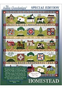 Anita Goodesign 12AGSE Homestead Embroidery Designs Collection