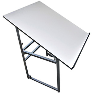 "TABLE ADD A TABLE, Sullivans 39271 Add-A-Table Adjustable Expanding Cutting Table 37x30"" Tilts"