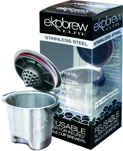 Ekobrew 40135 Elite Reusable Filter Keurig Coffee Pod Brewers