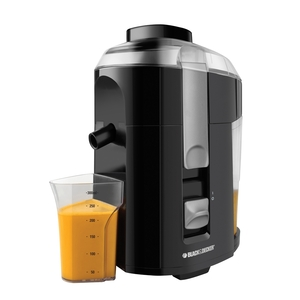 Black & Decker® JE2200B Fruit and Vegetable Juice Extractor, Black