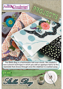 "Anita Goodesign PROJ42 Stella Bag 21 Designs for the 6""x10"" Hoop Projects Collection Multi-format Embroidery Design Pack on CD"