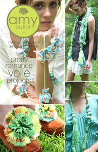 Amy Butler Designs, Pretty Romance, Voile Projects, Pattern,
