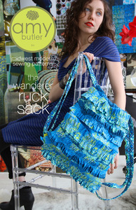 Amy Butler Designs, The Wanderer Ruck Sack, Pattern