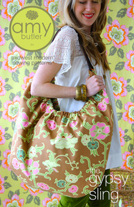 Amy Butler AB054GS Designs The Gypsy Sling Bag Sewing Pattern