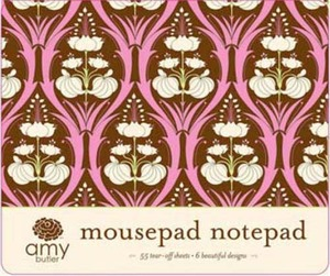 Amy Butler Designs Soul Blossoms Mousepad Notepad