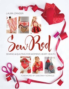 Sew Red, Sewing Book, by Laura Zander, & Contributing Designers: