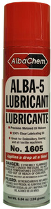 Albatross ALBA5 1605 Sewing Embroidery Machine Lubricant, Mineral Oil Spray, 6 Cans at 7oz Each