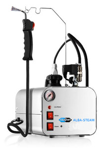 Albatross Alba STEAM System Spot Cleaning Steam Generator, Add this Steam Option to Cold Spotting Boards like the Venta-TAG or Hydrosolve JR.