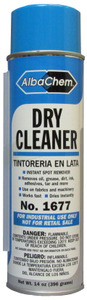 Albatross, Albachem, Dry Cleaner, Spot Remover, 14 oz, Aerosol Can, Remove Screenprint Oil, Remove Grease, 6 Pack