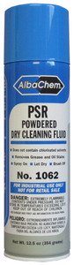 Albatross, Albachem, Powdered Dry Cleaning Fluid, 12 oz, Aerosol Can, For Dry Clean Only, S-Coded Fabrics,