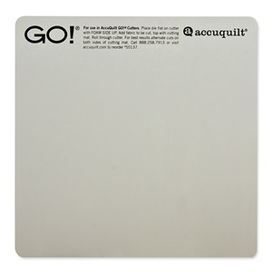 "AccuQuilt GO! 55137 6x6"" Cutting Mat for Fabric Cutter Dies"