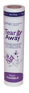 "OESD HBF20-10 Iron On Fusible TearAway Embroidery Stabilizer 10""x10Yds"