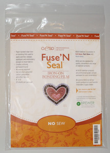 OESD HBHSC-10S Iron On Fuse n Seal CutAway Embroidery Stabilizer 8 x 10 inch sheets, 20 sheets per package