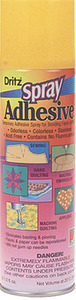 Dritz D403 3196 Spray Adhesive 6.2 oz Can, Great for Quilt Basting, Applique, Embroidery, and Securing Templatesnohtin