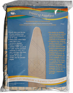 "Dritz 82455 Pressing Assistant Ironing Board Cover Accessoriy Fits Boards up to 15"" Inches Wide"