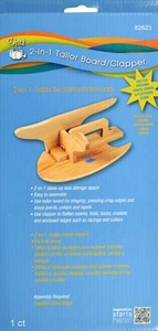 Dritz, 82623, 2, 1, Wooden, Tailor, Board, Clapper, Use, Pressing, Point, Curve, Flatten, Seam