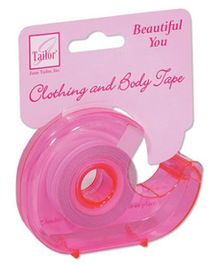 June Tailor JT-396 Beautiful You Double Sided Clothing and Body Tape in dispenser. A versatile quick solution for your style problems, Double sidednohtin