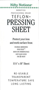 Nifty Notions 2430 11.5x18in Professional Grade PTFE Non Stick Pressing Sheet