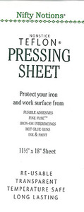 "Nifty Notions 2429 11.5""x18"" Stamdard Grade Non Stick Pressing Sheet"