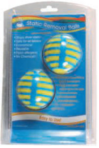 Dritz DCC82431 Static Removal Balls Pack of 2