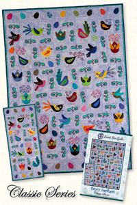 Lunch Box Quilts CQP-FF-1 Classic Fancy Feathers Sewing Pattern