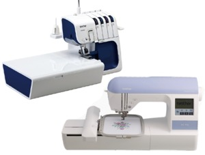 "Brother, Embroidery Machine and Serger, PE-770, PE770, Designio DZ820E, USB, 5X7, 4234,  4234DT, 4234DT SERGER, 4234dt project runway serger. 5234,  5234d, 5234 project runway, 5234 serger, 5234prw serger,  5234prw, BROTHER 5234PRW, BROTHER 5234 PROJECT RUNWAY SERGER, project runway serger,  2 3 4 thread, Freearm, Serger, DVD, 3 Feet, Easiest, Auto Needle Threaders, 14x10"" inch, Extension Table, 2 LED Lights, Rolled Hem, Differential Feed, 5 Year Extended Warranty, Brother 4234DT 234 Spool Freearm Serger, EASIEST Auto Needle Threaders, 14x10"" ExtensionTable & Storage, 2 LED Lights, Roll Hem, Diff Feed, 3 Feet, DVD"