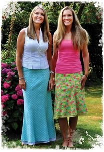 Favorite Things V045 Flip Skirts Pattern Sizes 4-22