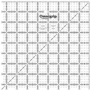 """Omnigrid Omnigrip 8 1/2"""" Gridded Square"""