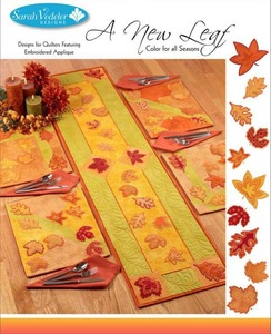 Sarah Vedeler SVNEWLEAF New Leaf, 17 Designs, Color for All Seasons CD