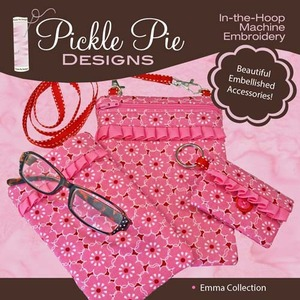 Pickle Pie Designs Emma Collection Embroidery Designs CD