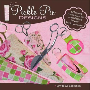 Pickle Pie Designs Sew To Go Collection Embroidery Designs CD