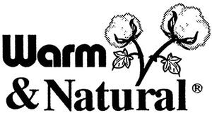"The Warm Company 1286 Warm & Natural Crib 45""x60"" 24/Case Batting"