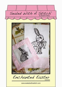 Sealed with a Stitch Enchanted Easter Embroidery Design CD