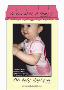 Sealed with a Stitch Oh Baby Applique Embroidery Design CD