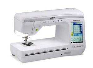 Brother VQ2400, Babylock Aria,  DreamCreator, Innov-is, Sewing, Quilting, Machine, 561 Stitch, 14 Buttonholes, 5 Fonts, Sew Straight Laser, Pen Pal, Extension Table, 3Bags