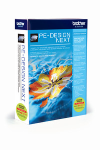 Brother, UPGRADE Only, to peDESIGN, Next 9 (Babylock Palette 9) from PE Design Plus Embroidery Software