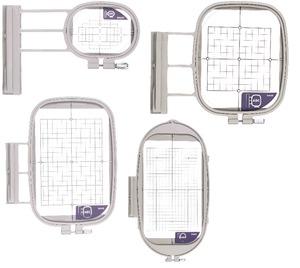 Sew Tech 4in1-B Hoops 1x2.5/SA437 4x4/SA438 5x7/SA439 6x10/SA441