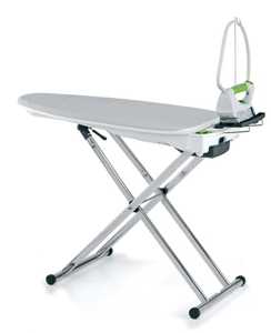 EuroFlex, 3109975.0, Monster IB40, IB40-G, IB40 Compact, IB40 Eco Green, Interactive, Vacuum, & Up Air, Blowing, Ironing Board, Aluminum, WITH Steam Generator, Iron, Teflon Soleplate, Stainless Steel, Boiler, ITALY