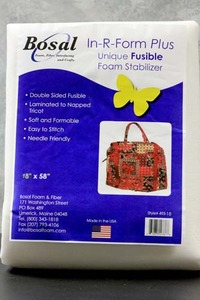"Bosal In-R-Form Plus, 493-18,  Double Sided Fusible 18"" x58""Toppings"