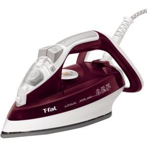 T-Fal FV4446, Ultraglide, Easycord, Steam Iron, Red, 1700W, Ceramic Soleplate
