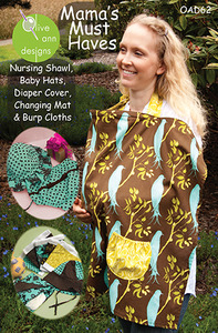 Olive Ann Designs Mama's Must Haves Sewing Pattern