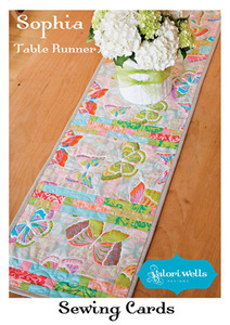 Valori Wells VWD88 Designs Sophia Table Runner Sewing Pattern
