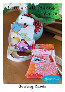 Valori Wells Little Cell Phone Wallet Sewing Card