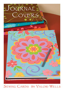 Valori Wells Designs Journal Cover-Sewing Card