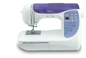 Brother NX250 80-Stitch Computer Sewing Machine, 3 Alphabets, 3 Buttonholes, Threader, Top Bobbin, LED Display & Lights, 6 Feed Dogs, $50 Rebate 10/5