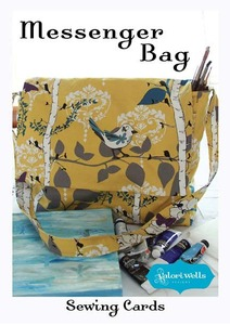 Valori Wells Designs Messenger Bag Sewing Pattern