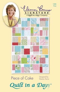 Quilt in a Day by Eleanor Burns Piece of Cake Sewing Pattern