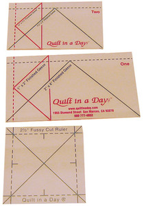 Quilt in a Day by Eleanor Burns Mini Flying Geese Ruler Setnohtin
