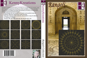 Kenny Kreations Rangoli Collection Multiformat Embroidery Design CD